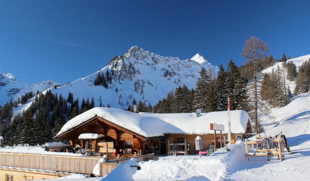 Skihütte-Melkboden_Skigebiet-Brandnertal_